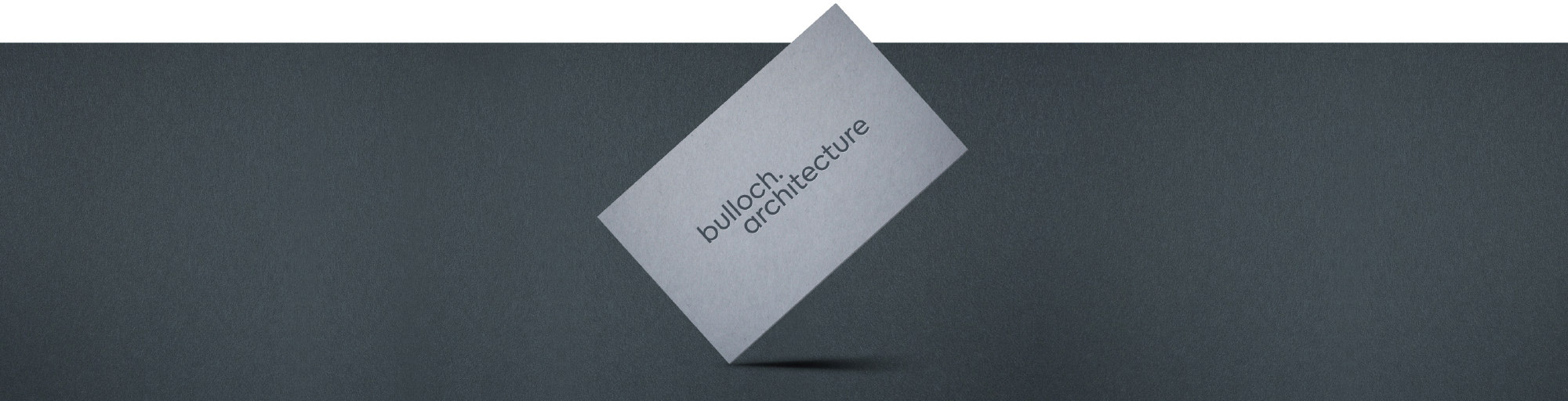 Bulloch Architecture business card